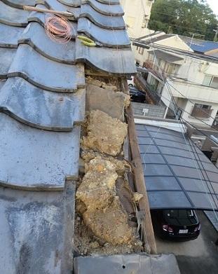 屋根修復DIY・4の2