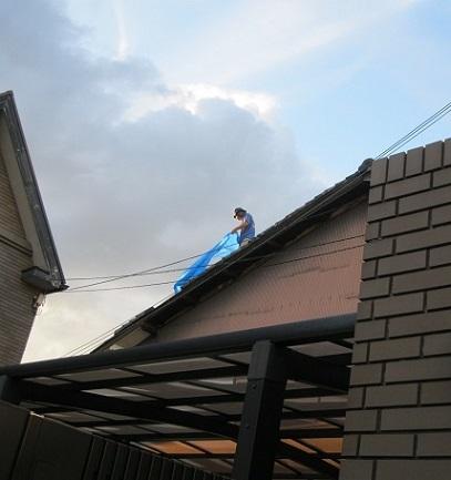 屋根修復DIY・5の2