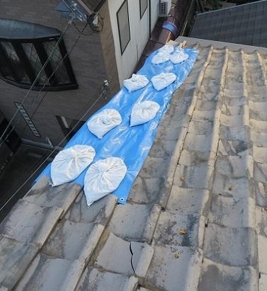 屋根修復DIY・6の2