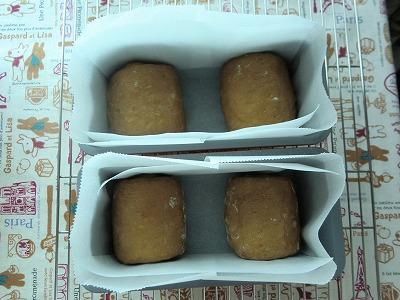 コーヒーミニ食パン発酵