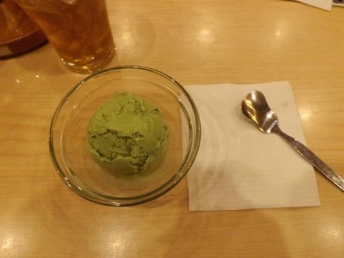 ペッパーランチ 抹茶アイス