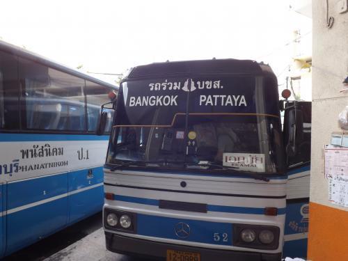 パタヤ往きバス