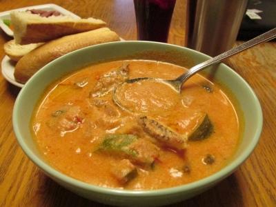 オニカサゴの豆乳トマトスープ5