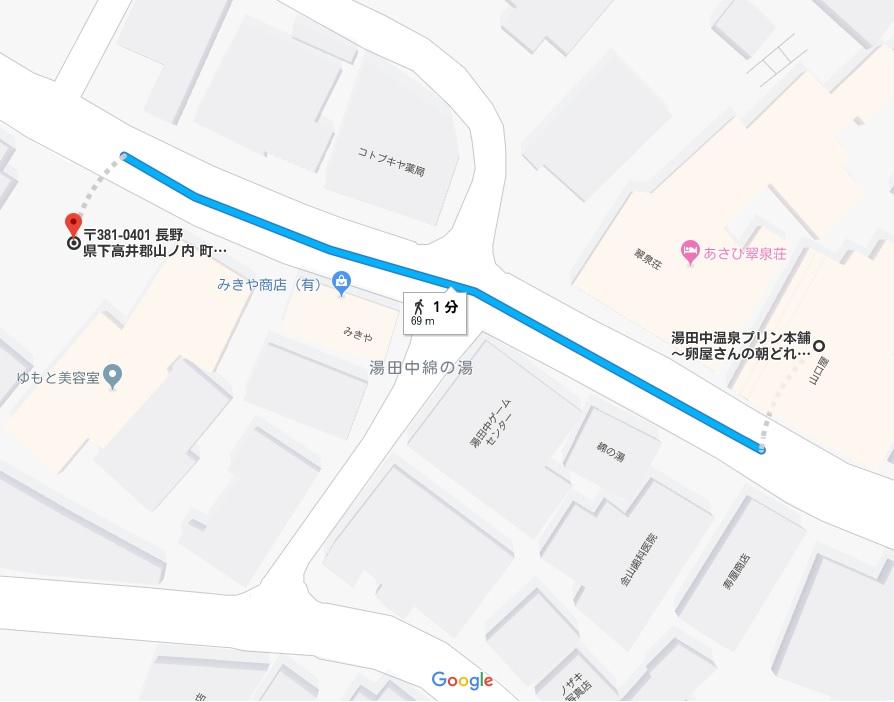 プリン本舗マップ