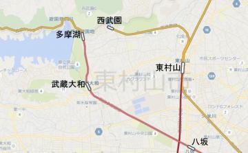 国分寺周辺地図c