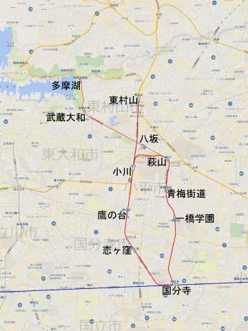 国分寺周辺地図b