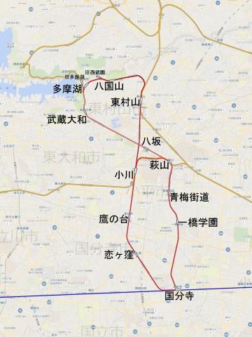 国分寺周辺地図d