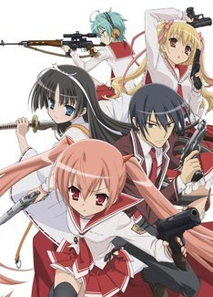 緋弾のアリア BD&DVDに関する画像-02