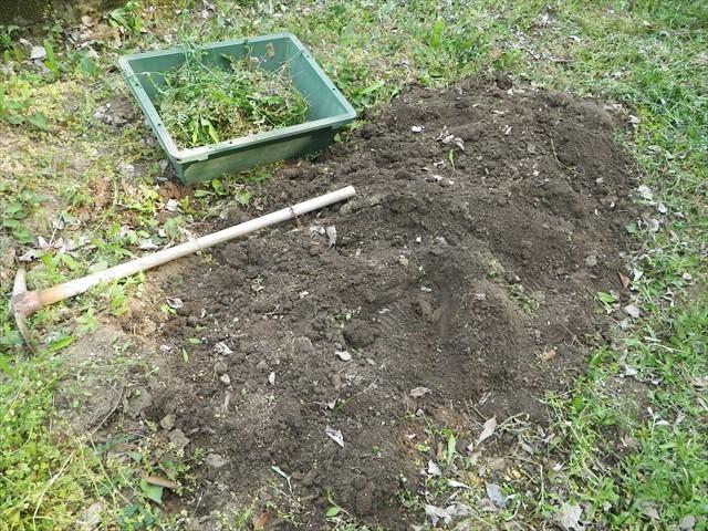 第一農園を耕す
