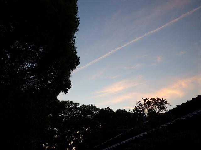 箕田の夕暮れ時