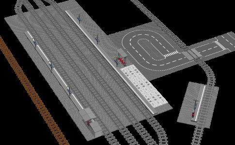 Bricklive沼津 駅前 俯瞰