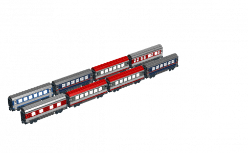 Nightjet 客車編成