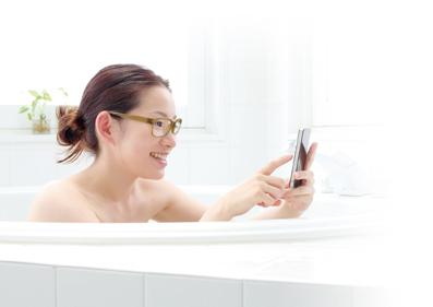 お風呂メガネ-モデル