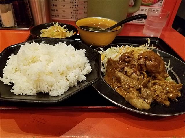 20180828_115437_R 豚ロース味噌焼き定食