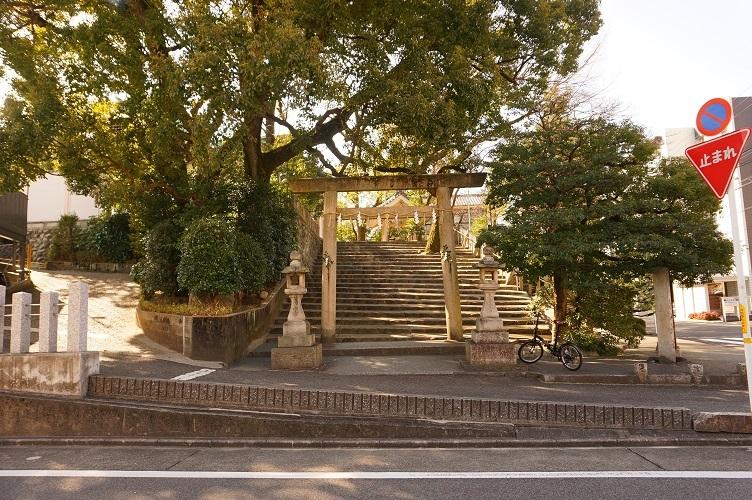 07 白山神社(古墳後円部)