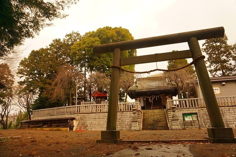 01 大塚八幡神社遠景