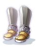 名も無き剣士のブーツ