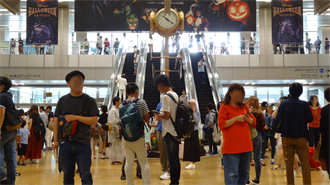 ラブライブ!サンシャイン!! 聖地巡礼 名古屋駅桜通口・金の時計