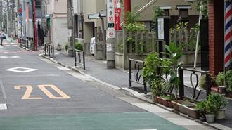 ラブライブ!サンシャイン!! 聖地巡礼 壱岐坂通り交差点