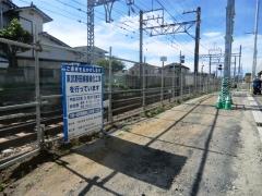 六実駅270号踏切付近