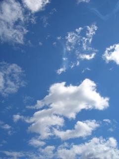 ciel Languedoc blue sky south-france