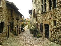 ヨーロッパ古い街並み