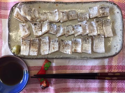 180816太刀魚刺身?