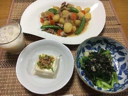 2018611夕飯