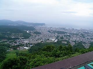 天狗山からの小樽市街