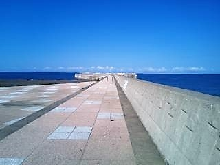 ゴールデンビーチ北突堤