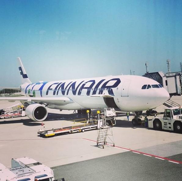 Finnair Marmekko フィンエアー マリメッコ ウニッコ