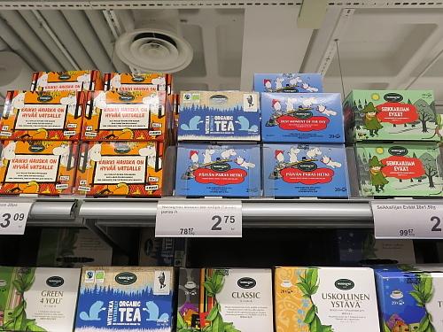 フィンランド ムーミン 紅茶 Muumitee