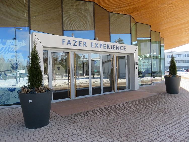 Fazer Visitcenter Vantaa フィンランド Fazer ビジットセンター