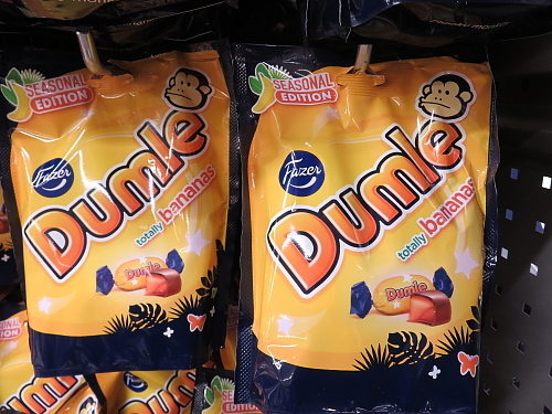 Fazer Dumle Banana バナナ 季節限定