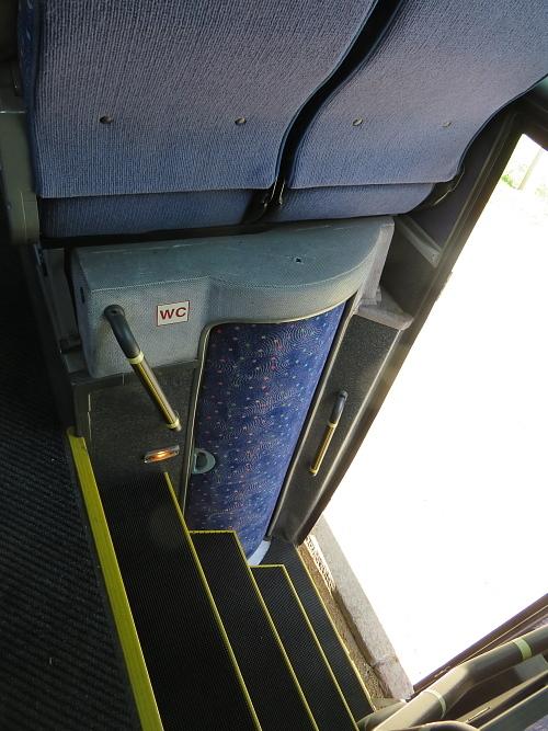 フィンランド 長距離バス トイレ