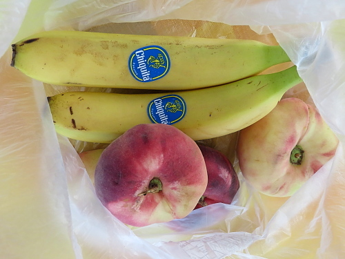 フィンランド 平べったい桃を柔らかくする方法 バナナ