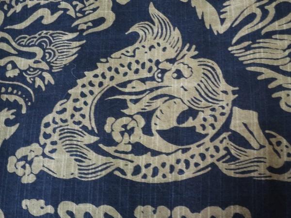 龍の浴衣②
