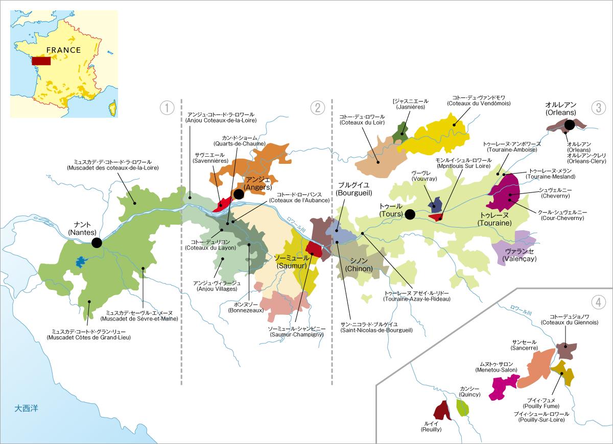 フランスワイン_ロワール地方1