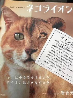 岩合さんの写真展&サイン会 004