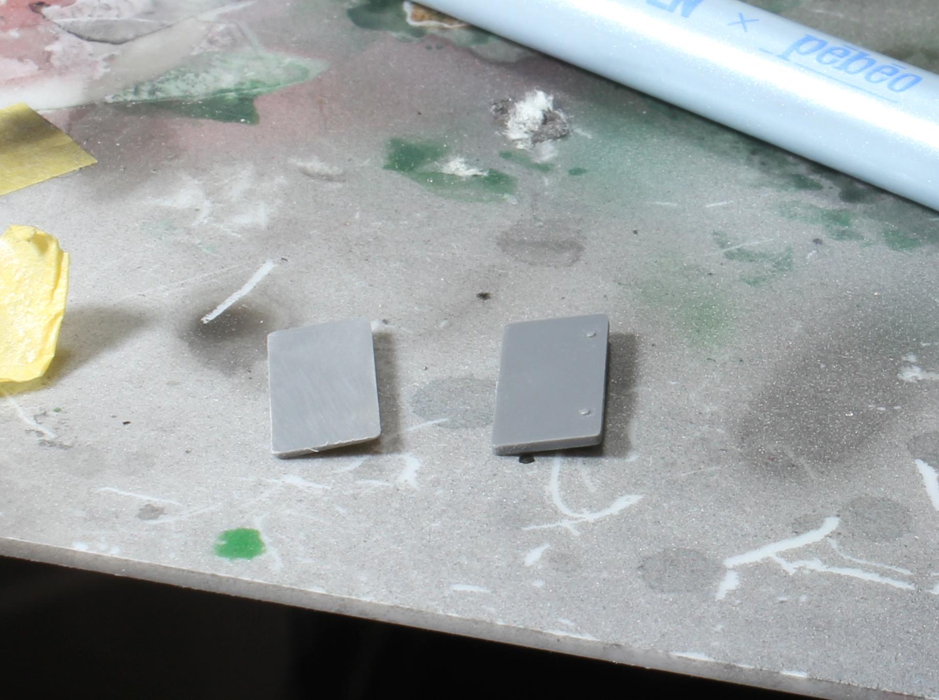 シビック ナンバープレート加工1