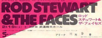 faces ticket