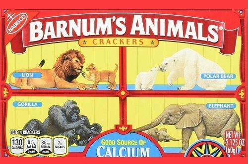 ナビスコ「動物クッキー」、動物愛護団体の苦情で長年親しまれてきたパッケージを変更