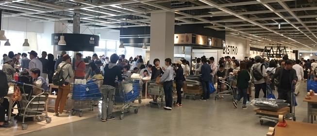 IKEA長久手ビュッフェ混雑