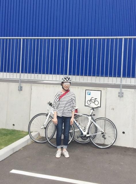 IKEA長久手の駐輪場