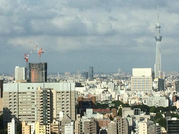 文京シビックセンター 隅田川花火大会