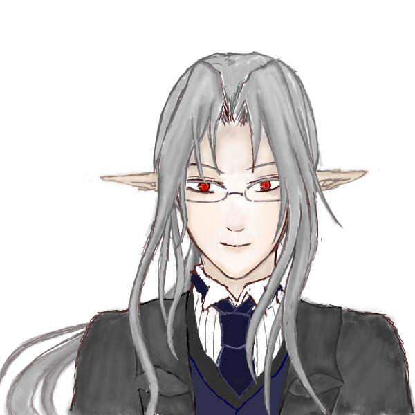 ヤギさん 眼鏡