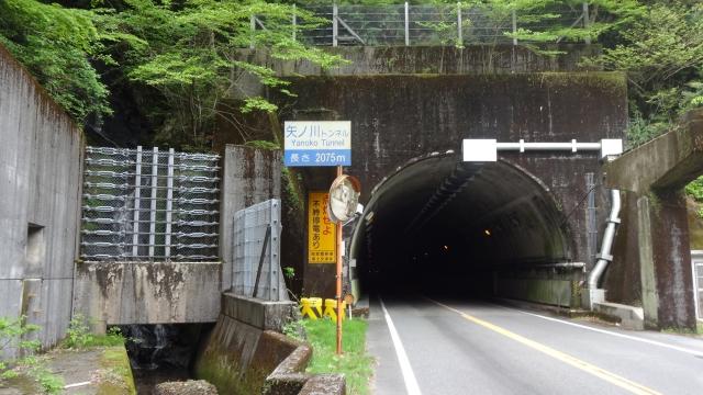 ようやくトンネル