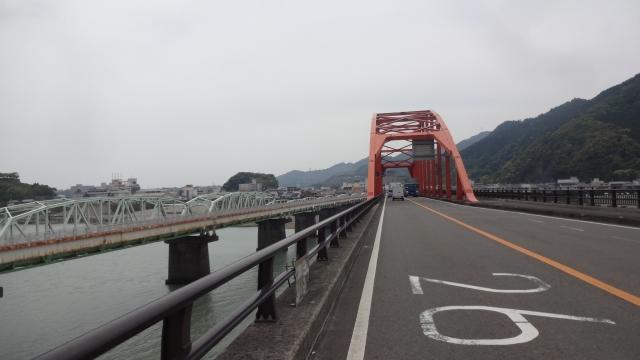 熊野川から和歌山県へ