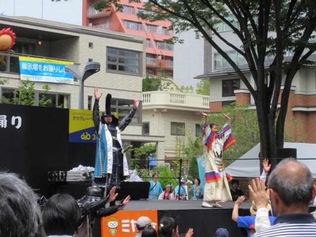 夏祭り仙台すずめ踊り