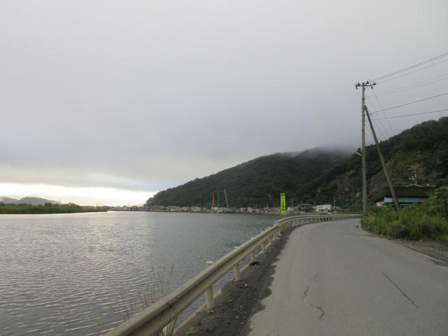 北上川沿い